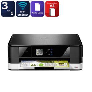 Imprimante multifonction Brother J4110DW jet d'encre couleur 3 en 1 - A3 (avec ODR 30€ exclu. Cdiscount) - (45.84€ via Buyster)