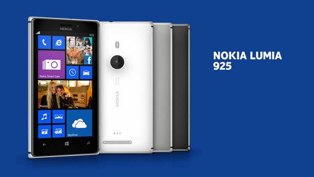 Smartphone Nokia Lumia 925 Blanc (Avec ODR de 50€)