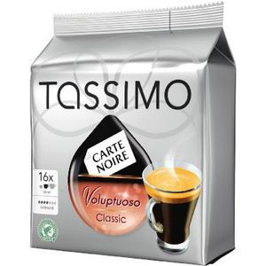3 paquets de 16 dosettes Tassimo Expresso Classic