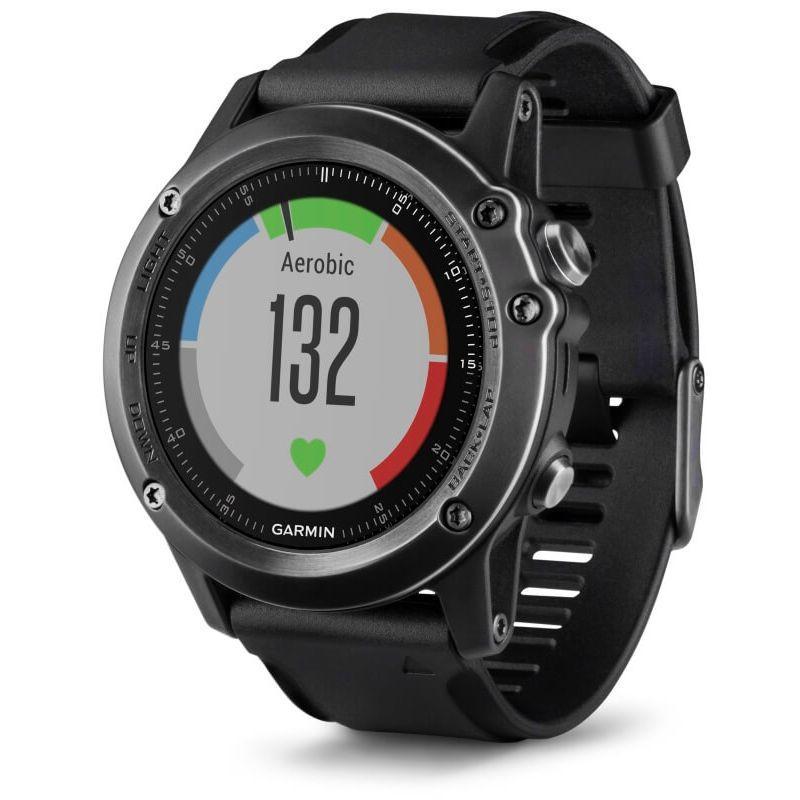 Montre GPS multisports Garmin Fenix 3 HR Sapphire