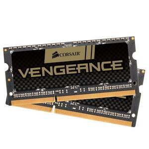 Barrette de Ram PC Portable Corsair Vengeance SO-DIMM 16 Go (2 x 8 Go) DDR3 1866 MHz CL10