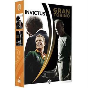 Soldes DVD : Coffret Eastwood (Invictus + Gran Torino)