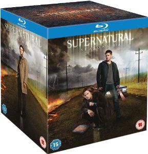 Coffret Blu-ray Supernatural intégrale (saisons 1 à 8)