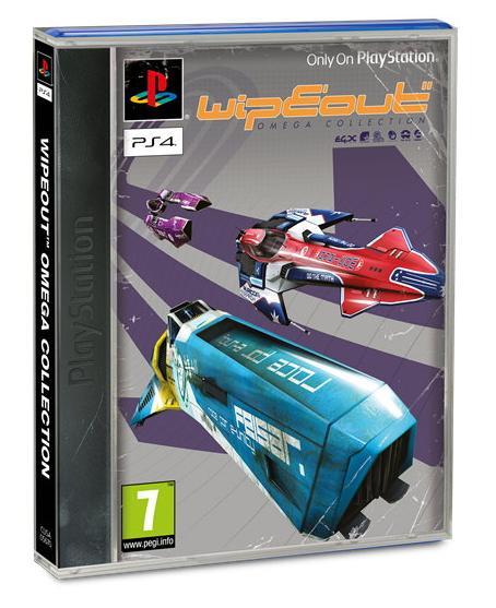 WipEout Omega Collection sur PS4 + Fourreau classique