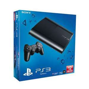 Console Sony PS3 Ultra Slim 12 Go + 2 manettes Dualshock 3