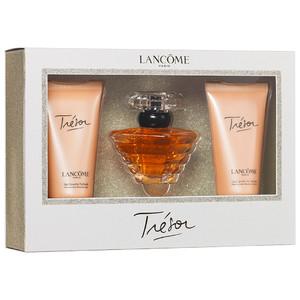 Coffret Trésor de Lancôme (Eau parfum 30ml, Lait corps 50ml, Gel douche 50ml) + Armani Code Sport (Gel douche 75ml, Parfum 4ml)