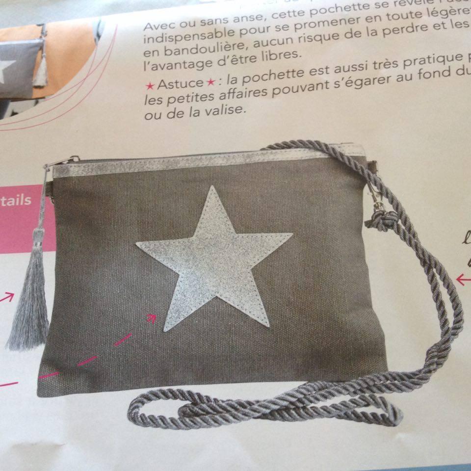 une boite infusion + une pochette étoile argentée