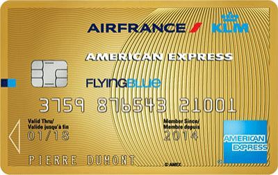 Carte gold American Express AirFrance Klm offerte  pendant 1an + 10 000 miles offerts + bon d'achat de 50€ à valoir chez airfrance KLM