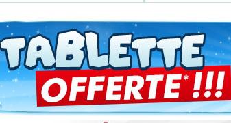 """Une tablette tactile 7"""" - 4Go offerte pour 500€ d'achat informatique"""