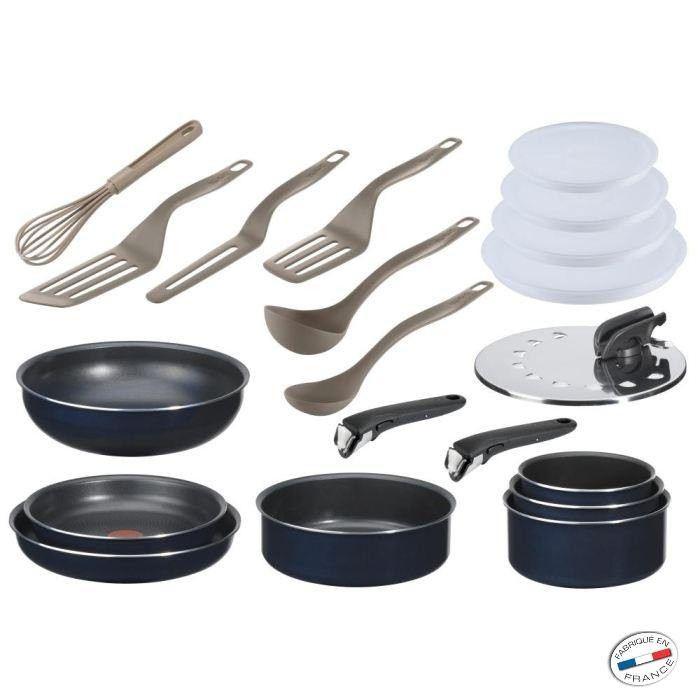 batterie de cuisine Tefal Ingenio 5 (20 Pièces)