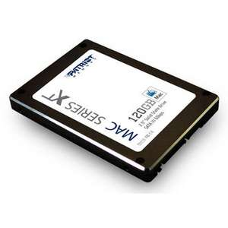 SSD Patriot Mac XT Series 120 Go (500 Mo/s pour 520 Mo/s en lecture)