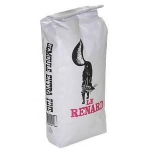 3 sacs de 5 kg de semoule de blé extra fine Le Renard (via Shopmium)