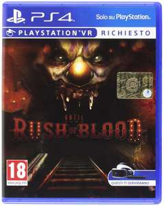 Until Dawn - Rush of Blood (VR) sur PS4