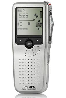Dictaphone Philips Pocket Memo LFH-9380 avec Carte Mémoire
