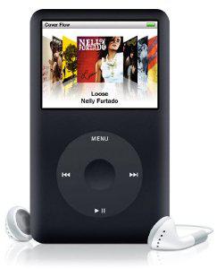 Apple iPod classic 160 Go Noir - 6ème génération