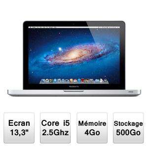 "Apple MacBook Pro 13"" (Intel Core i5, 4 Go RAM, 500 Go)"