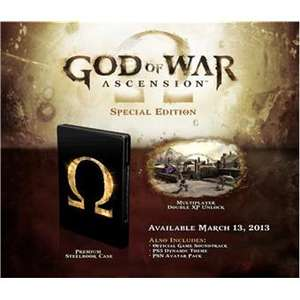 God Of War Ascension Edition Speciale PS3