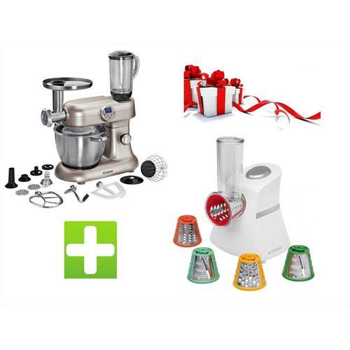 Pack  robot cuiseur 5en1 + hachoir multi express + 50€ bon d'achat