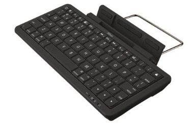 Trust 17809 Clavier sans fil Bluetooth avec support intégré pour iPad Noir
