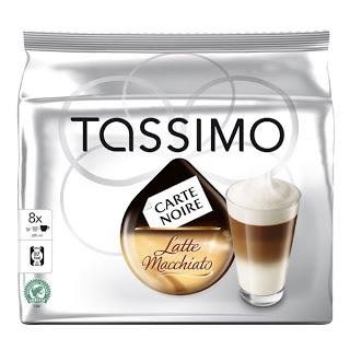 8x Capsules Tassimo Latte Machiatto