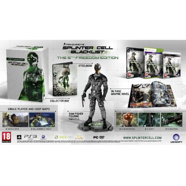 Splinter Cell : Blacklist 5th Freedom Edition sur PS3 et Xbox360