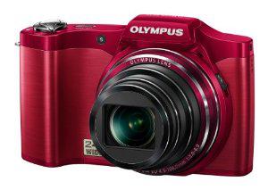 Appareil photo Olympus SZ-14, 14 Mpix, Zoom optique 24x - Rouge