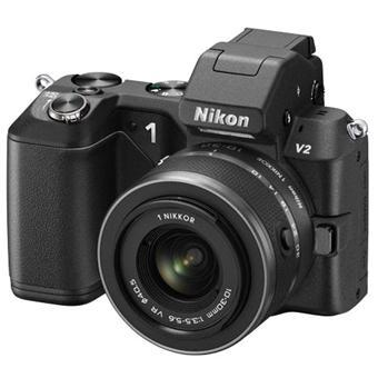 Appareil photo Nikon 1 V2 Noir + Obj. Nikon 1 VR 10 - 30 mm f/3.5 - 5.6
