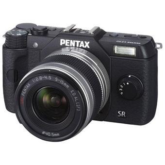 Pentax Q10 Noir + Obj. Pentax : 5 – 15 mm f/2.8 – 4.5 + Fourre-tout + Mini trépied
