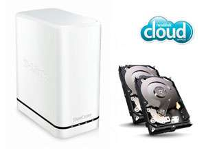 NAS D-Link DNS-320LW + 2 disques durs Seagate Barracuda 2 To