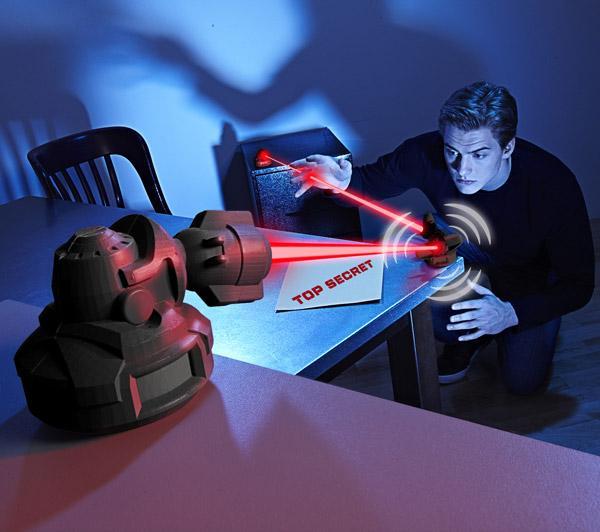 Jouet Spy Gear Système de défense laser (2 autres jouets également en promo)