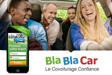Télécharger gratuitement l'application BlaBlaCar et bénéficier d'une carte carburant d'un montant de 20€  pour tout premier trajet publié