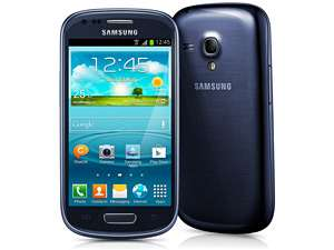 Smartphone Samsung Galaxy SIII Mini Metallic Blue