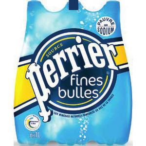 Perrier Fines Bulles (Pack de 6 bouteille) Gratuit