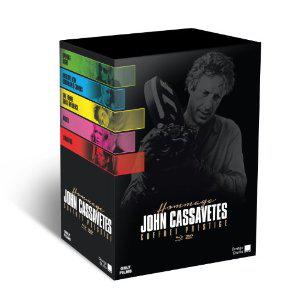 Coffret hommage John Cassavetes - 5 Blu-ray + 5 DVD (en anglais avec sous-titres FR)