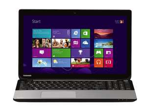 "PC Portable Toshiba L50t-A-12W 15.6"" Tactile i5 1To 4 Go GT 740M Windows 8 (ODR 100€)"