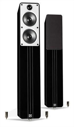 Paire d'enceintes Q Acoustics Concept 40 - Blanc ou noir laqué