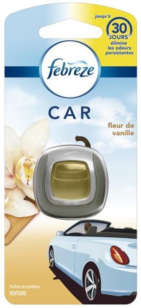 Sélection de produits en Promotion : Ex : Désodorisant Jetable Febreze Car pour Voitures (Parfums au choix - Via BDR)