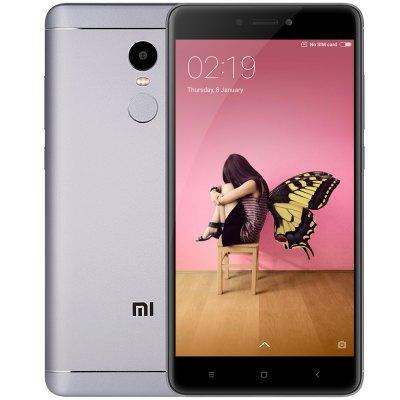 "Smartphone 5.5"" Xiaomi Redmi Note 4 (Global Version) - Bandes 4G B3/B7/B20, Full HD, Snapdragon 625, RAM 3 Go, ROM 32 Go"
