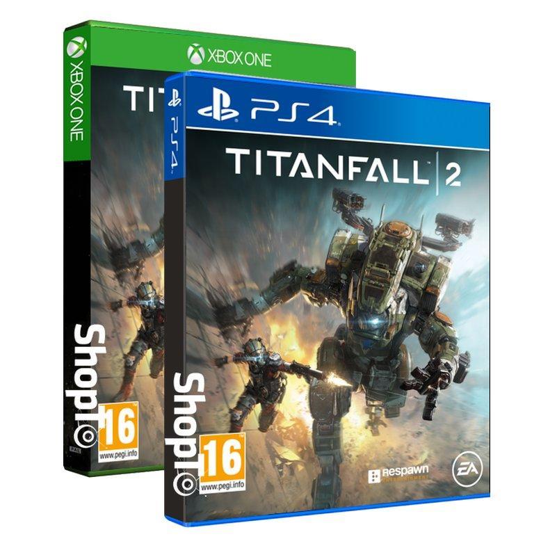 Sélection de jeux en promotion - Ex: Titanfall 2 sur PS4 ou Xbox One