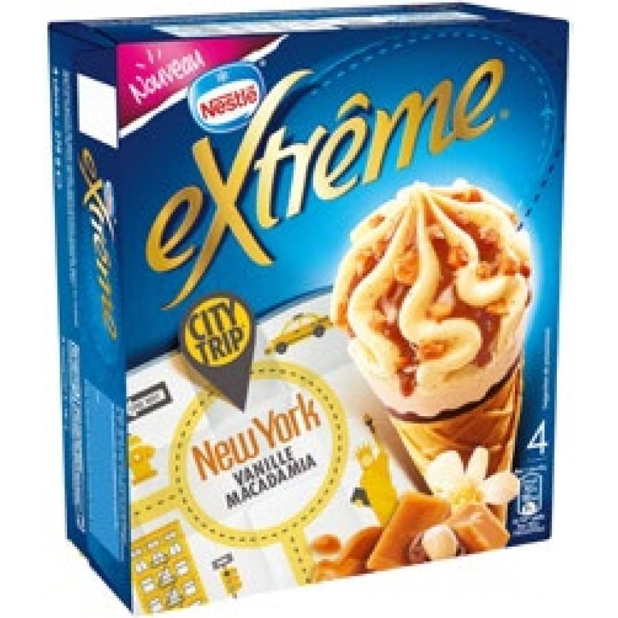 Lot de 2 boîtes de cônes glacés Nestlé Extrême (via 3.04€ sur la carte + Shopmium)