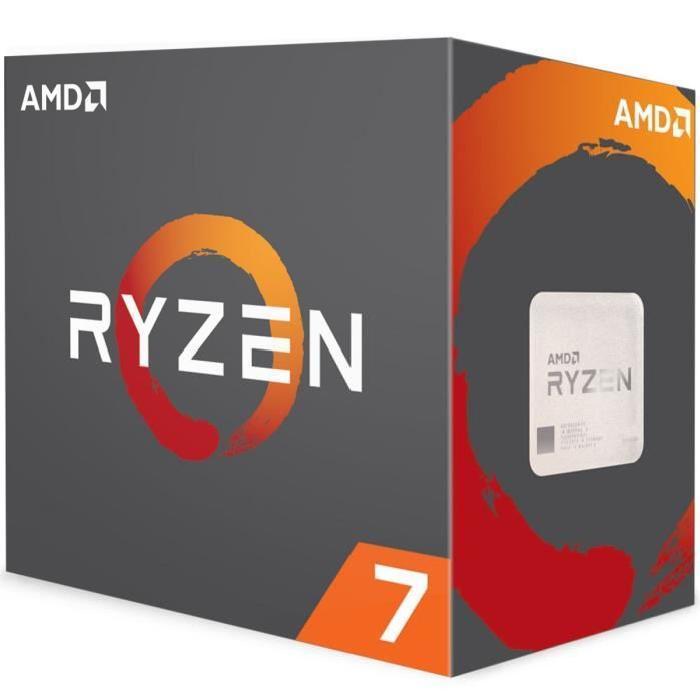 Processeur AMD Ryzen 7 1700 - 3.0 GHz