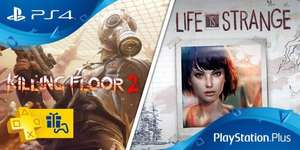 [PS Plus] Killing Floor 2 et Life is Strange gratuits sur PS4
