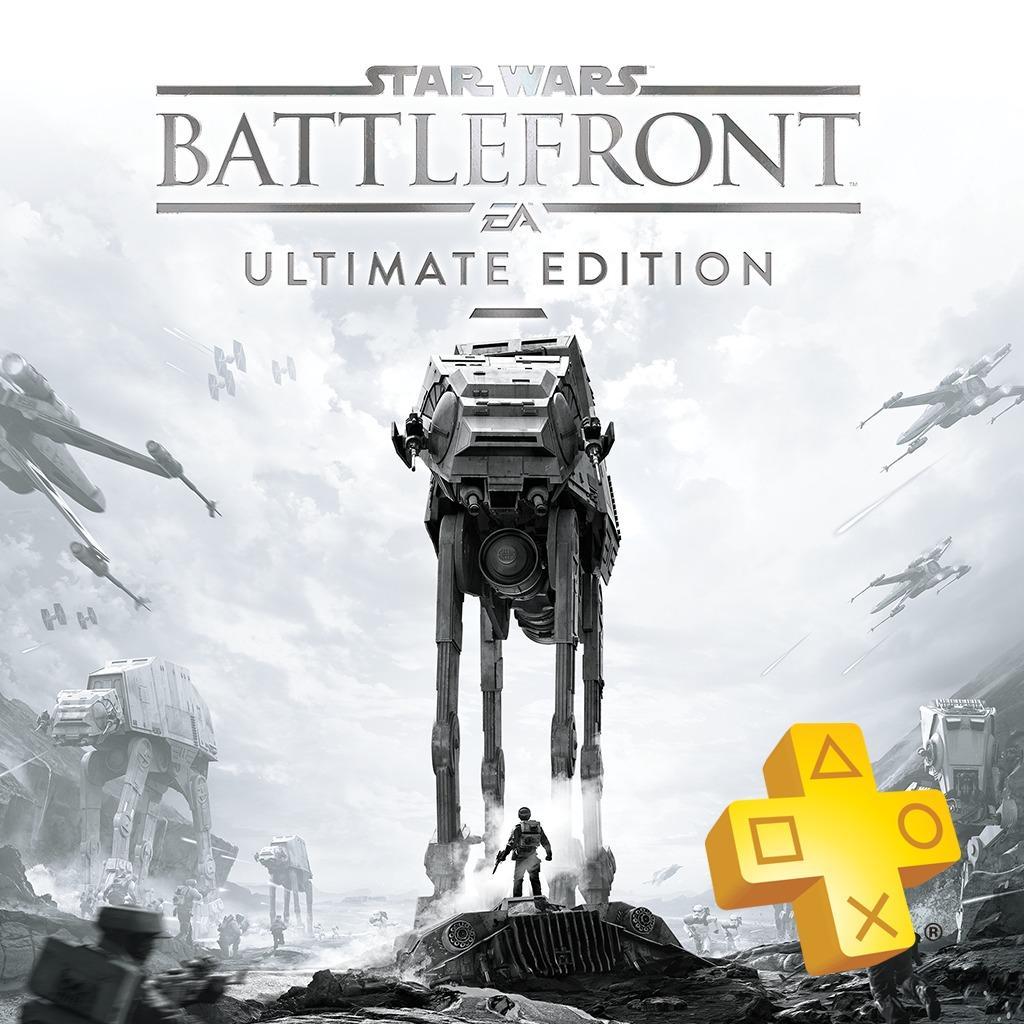 [Non abonnés] Star Wars Battlefront Ultimate Edition offert sur PS4 (Dématérialisé) pour l'achat de 12 mois de Playstation Plus