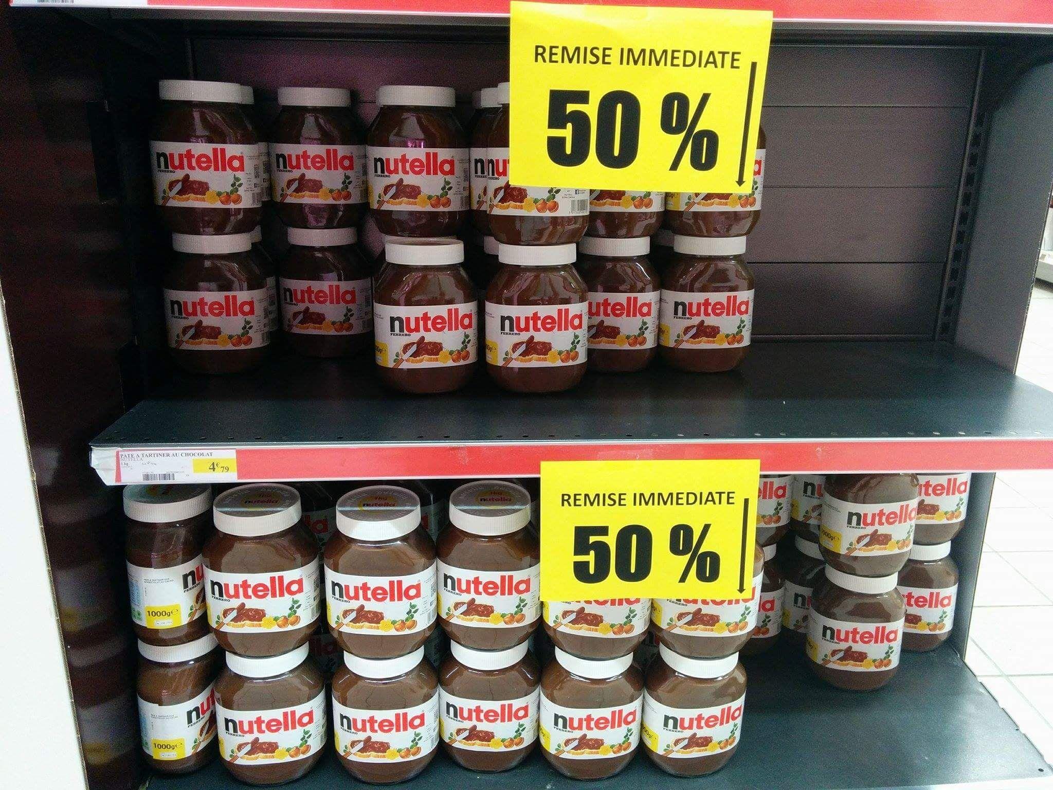 Pot de Nutella  - 1 Kg