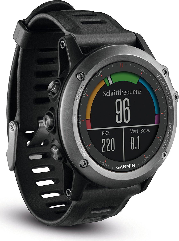 Montre GPS Garmin Fenix 3 - Rouge ou Noir