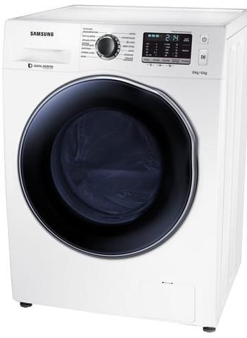 Lave-linge séchant Samsung WD80J5430AW - 8kg / 6kg, 1400 tours, Classe B (via ODR 70€)
