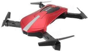 Drone Quadcopter Eachine E52 WiFi FPV Selfie Rouge -  Bind-and-fly (BNF)