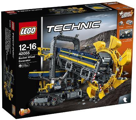 Jeu de construction Lego Technic 42055 - La Pelleteuse à Godets