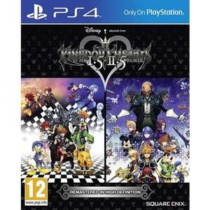Kingdom Hearts 1.5 et 2.5 HD Remix sur PS4