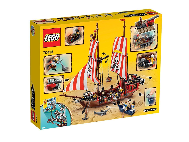 Jeu De Construction Lego Pirates  - le bateau pirate n°70413